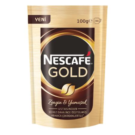 nescafe gold 100 gr kahve ekopaket
