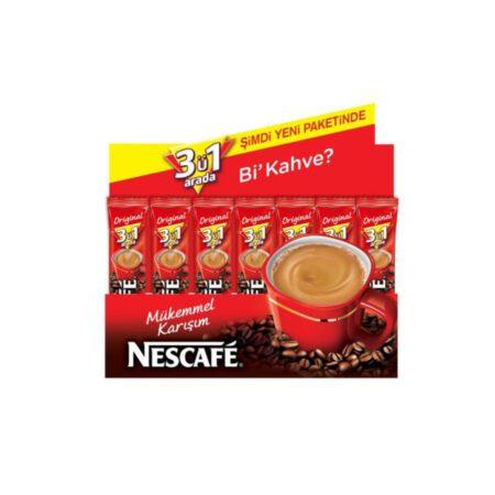 Nescafe 3'ü 1 Arada Orjinal 17,5gr*72 Adet