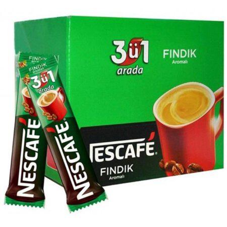 Nescafe Fındık Aromalı 3'ü 1 Arada 17 gr.x 48 Adet