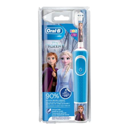 Oral-B Çocuklar İçin Şarj Edilebilir Diş Fırçası D100 Frozen