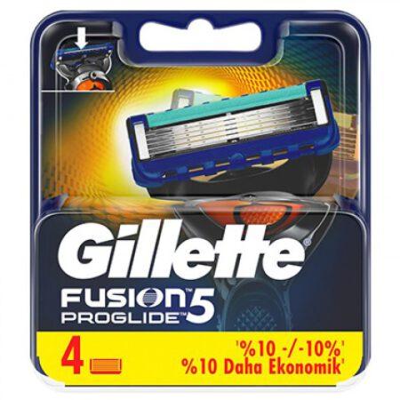 Gillette Fusion Proglide Yedek Tıraş Bıçağı 4lü