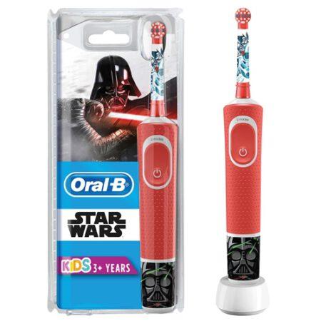 Oral B Çocuklar İçin Şarj Edilebilir Diş Fırçası D100 Star Wars