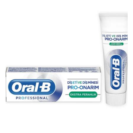 Oral-B Pro Onarım Ekstra Ferahlık Diş Macunu 75 ml